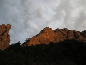 Sunset on Roca Ponent